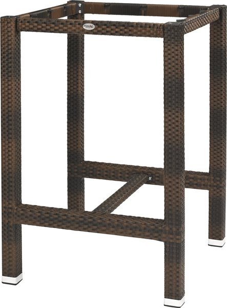 lena 80 wicker high burned gastro classics. Black Bedroom Furniture Sets. Home Design Ideas